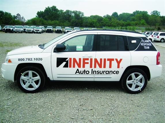 The Infinity Insurance fleet totals 427 vehicles, primarily Jeep Compass models provided to the company's adjustors, business development and marketing personnel, and special investigative units. A green fleet policy has been in place for the past five years.