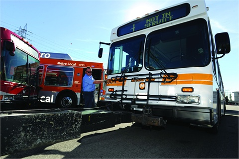 LA Metro began focusing on cleaning up its bus fleet in the 1980s and now operates an entirely alternative-fuel fleet.