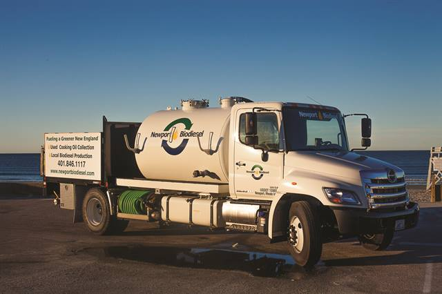 Newport Biodiesel produces fuel from waste vegetable oil collected from more than 1,700 restaurant partners in the New England area.