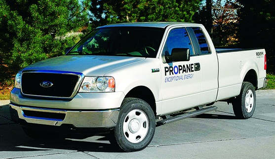 Vehicles fueled by propane autogas have equivalent horsepower, torque, and towing capacity as gasoline-fueled models, and emit 12-percent less carbon dioxide, about 20-percent less nitrogen oxide, and up to 60-percent less carbon monoxide than gasoline-fueled vehicles.
