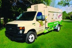 Schwan's has beenoperating propane-autogas trucks since the gasoline crises of the 1970s.