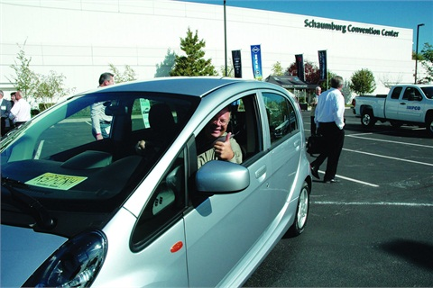 Participants have a chance to drive an array of alternative fuel vehicles as part of the ever-popular Ride and Drive Event.