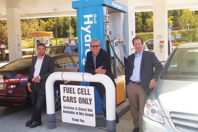 The FirstElement Fuel Management Team — (L-R) Shane Stephens-Romero, Joel Ewanick, and Tim Brown — is working closely with Toyota to expand fuel cell adoption in California. Photo: Business Wire