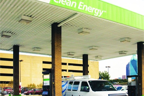 Because of its lower cost, natural gas is expected to see a boom in the next five to 10 years. Likewise, electric vehicle charging stations are expected to reach nearly a half-million units by 2020.