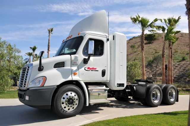 "Ryder says demand for alternative fueled trucks has been ""spotty,"" thanks to low diesel prices, but says with the right combination of economic factors, alternative fuels such as natural gas can still make sense. Photo: Ryder"