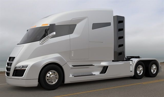 Nikola One is two years away from production, but the company has amassed $2.3 billion worth of orders. Photo: Nikola Motors