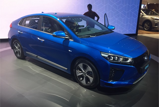Photo of 2017 Hyundai Ioniq Electric by Paul Clinton.