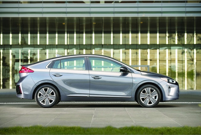 Available later this year, the all-new Ioniq will be available in three fuel-efficient options. Photo courtesy of Hyundai