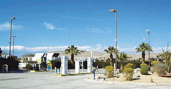 This 24-hour CNG fueling station located in Thousand Palms, Calif., is part of a network of seven CNG stations throughout the Coachella Valley region available to the general public. Photo via Sunline Transit Agency