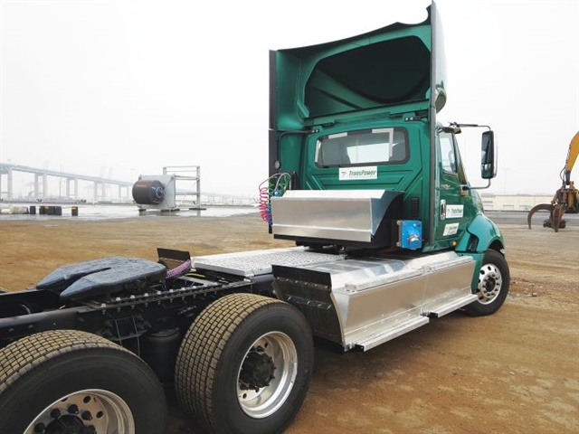 """Determining the operating costs for electric trucks can be difficult because electric equivalents to """"fuel economy"""" ratings are not published for commercial vehicles. Photo: TransPower"""