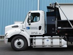 Piedmont Natural Gas utilizes compressed natural gas in its fleet of dump trucks. (Photo: Piedmont Natural Gas)