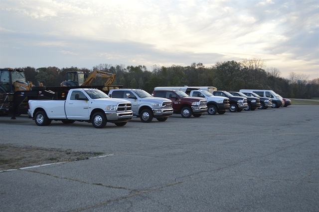 Ram Commercial Truck recently put its entire lineup to the towing test. Photo: Chris Wolski