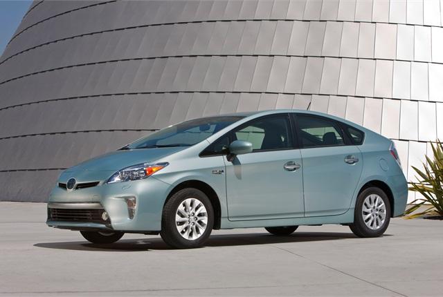 2014 Toyota Prius Plug-in Hybrid. Photo courtesy Toyota