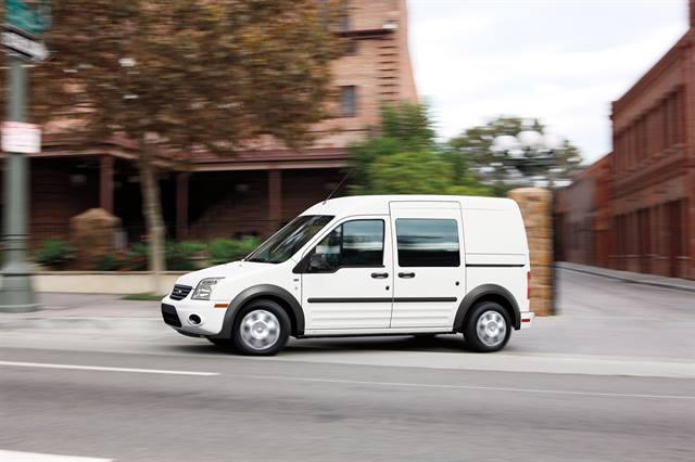 The 2012-MY Ford Transit Connect Electric.