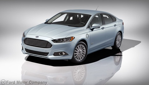 The Ford Fusion Energi plug-in Hybrid was awarded NHTSA's five-star safety ranking.