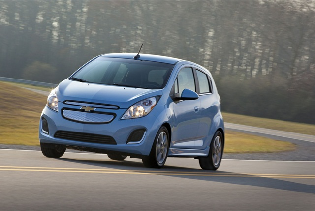 GM said the Spark EV will go on sale in California and Oregon this summer. Photo courtesy GM.