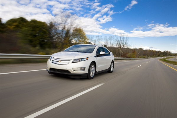 The 2014 Chevrolet Volt. Photo courtesy GM.