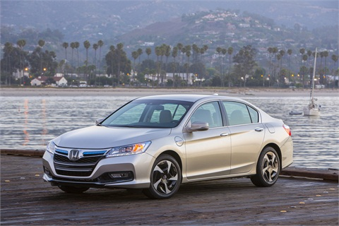 2014_Honda_Accord_PHEV. Photo courtesy of Honda.