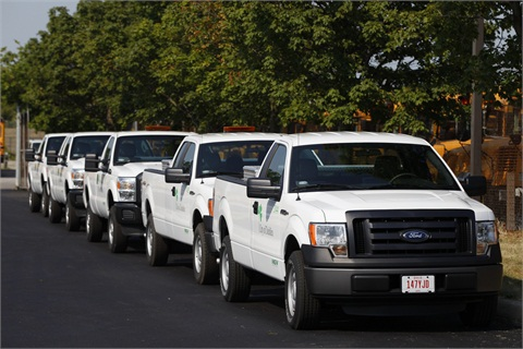 The City of Dublin estimates annual fuel savings of $30,000 with its new CNG vehicles.