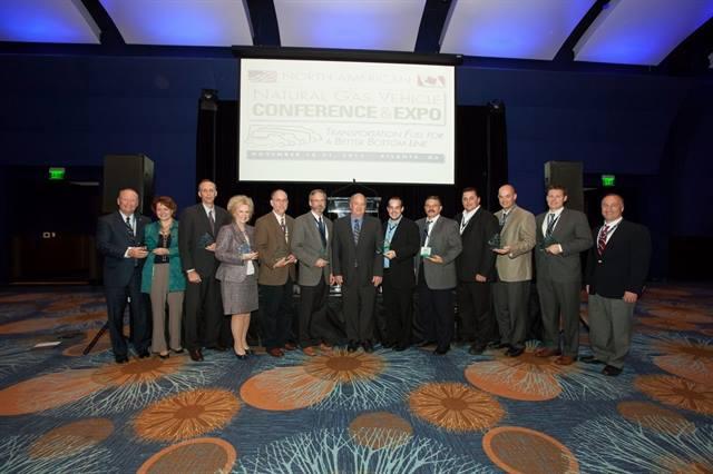 The 2013 NGV Achievement Award winners.