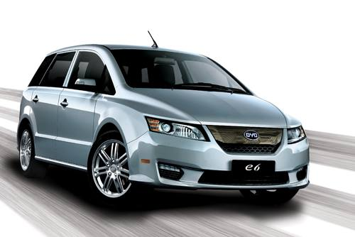 BYD e6 all-electric car