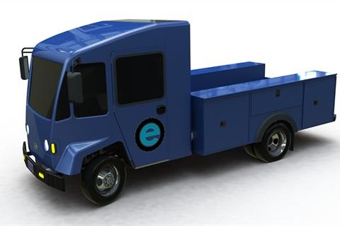 BEV service truck