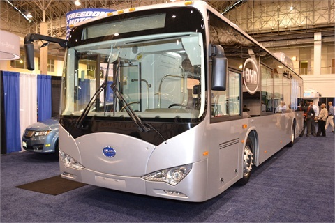 BYD's All-Electric Bus.