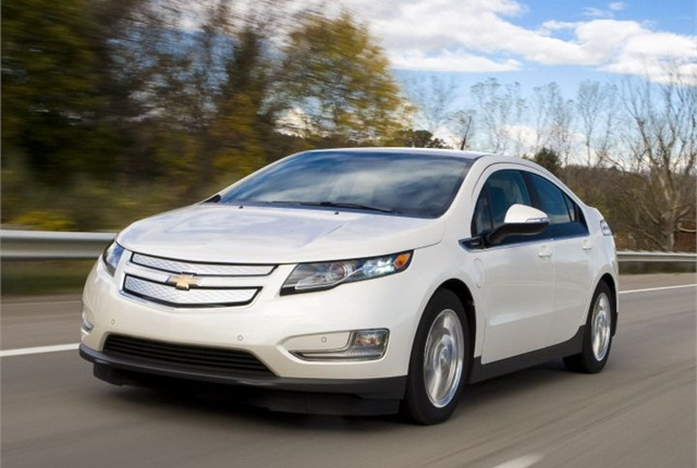 Photo of 2013 Chevrolet Volt courtesy of GM.