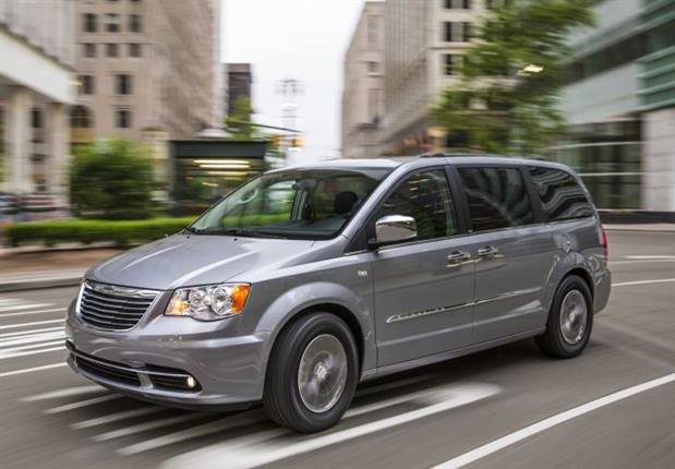 Photo of 2014 Town and Country courtesy of Fiat Chrysler.