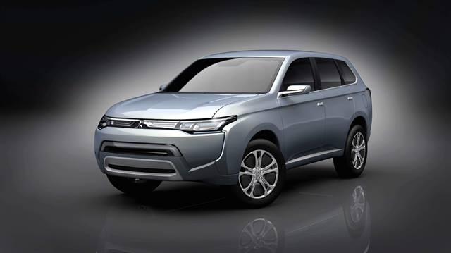 Mitsubishi Concept PX-MiEVII plug-in hybrid SUV