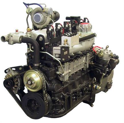 An OM6NG1/OM6NG2 diesel-to-natural gas engine.Photo courtesy Omnitek