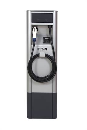 Eaton's EV supply equipment was showcased at the Consumer Electronics Show.
