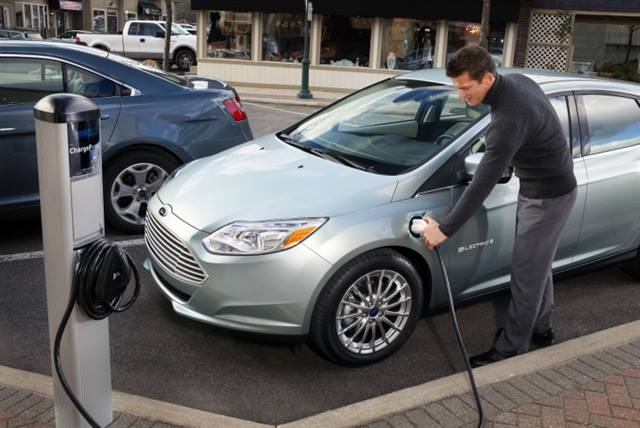 Ford has opted to place its EV and plug-in hybrid charge ports on the driver side