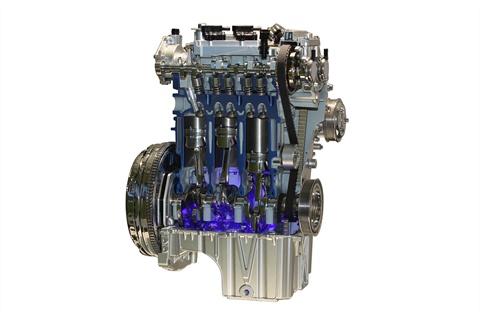 Ford's new 1.0-liter EcoBoost engine