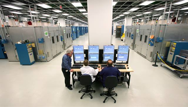 GM battery engineering teams have tested and validated the A123 battery chemistry at the automaker's Global Battery Systems lab in Warren, Mich.