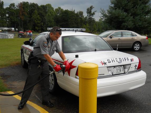 The Iredell County Sheriff's fleet is experiencing 40-50 percent fuel savings, as well as reduced maintenance costs.
