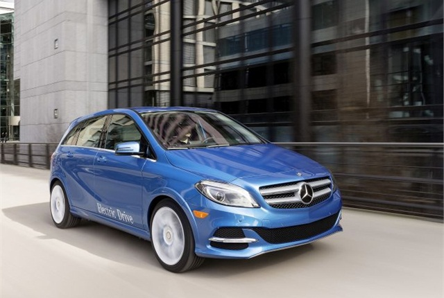 Photo of B-Class courtesy of Mercedes-Benz.