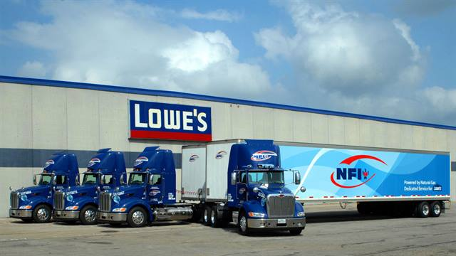 As part of its continued commitment to promote responsible transportation practices and sustainable technologies, Lowe's launched a natural gas-powered fleet in Texas.