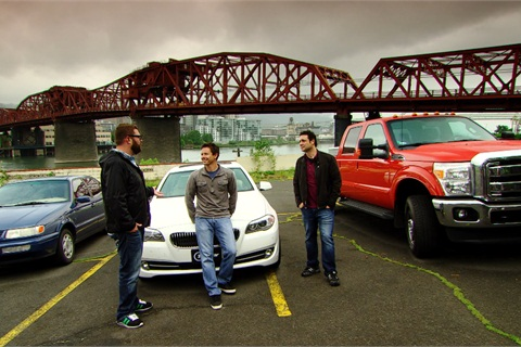 Top Gear, which airs on the History Channel on Tuesday nights and is produced by BBC Worldwide Productions, featured the Venchurs converted bi-fuel Ford pickup in a challenge that required hosts Tanner Foust, Rutledge Wood, and Adam Ferrara to drive from Portland, Ore., to San Francisco without stopping for fuel.