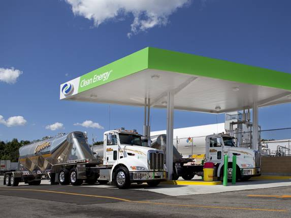 Clean Energy Fuels to distribute fuel made from waste streams. Photo courtesy Clean Energy Fuels Corp.