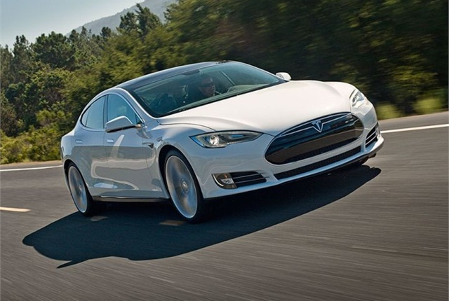 Photo of Model S courtesy of Tesla Motors.