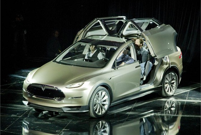 Tesla's Model X was unveiled in mid-2012. Photo courtesy Tesla.