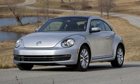 The Beetle TDI features VW's 2.0L turbocharged, direct-injection Clean Diesel engine that produces 140 hp and 236 lb.-ft. of torque.