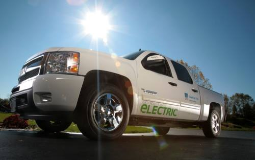 Production of VIA's eREV Pickup Truck is scheduled to begin in 2012.