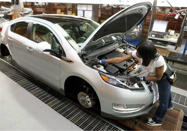 GM's Detroit-Hamtramck Assembly plant is home of the Chevrolet Volt.
