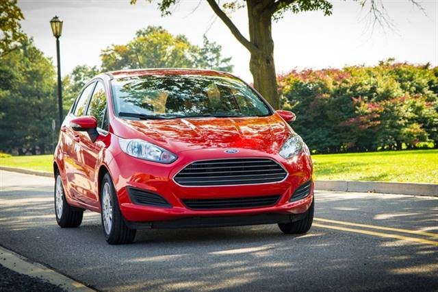 Photo of 2014 Fiesta SFE courtesy of Ford.