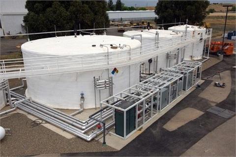 <p></p><p>The Sacramento BioDigester converts food waste into renewable energy. <em>Photo courtesy of Atlas Disposal.</em></p>