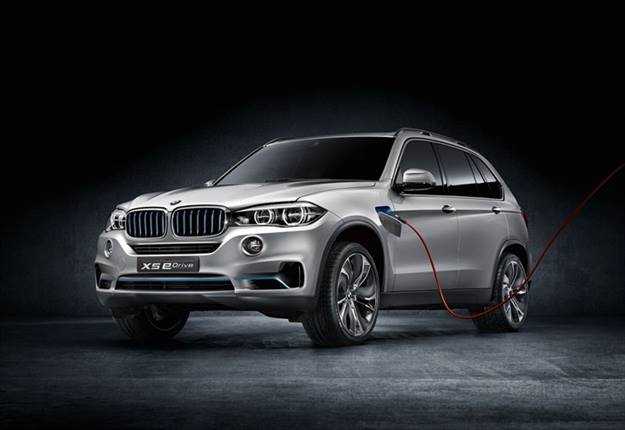 The BMW x5 eDrive plug-in hybrid concept. The automaker plans to show this vehicle at the Frankfurt Auto Show.Photo courtesy BMW.
