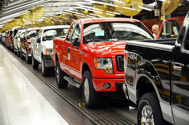 First Cng Capable 2014 Ford F 150 Rolls Of Assembly Line