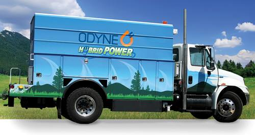 Odyne Systems is a leader in hybrid systems for truck fleets.
